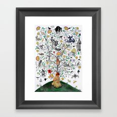 day dreams Framed Art Print
