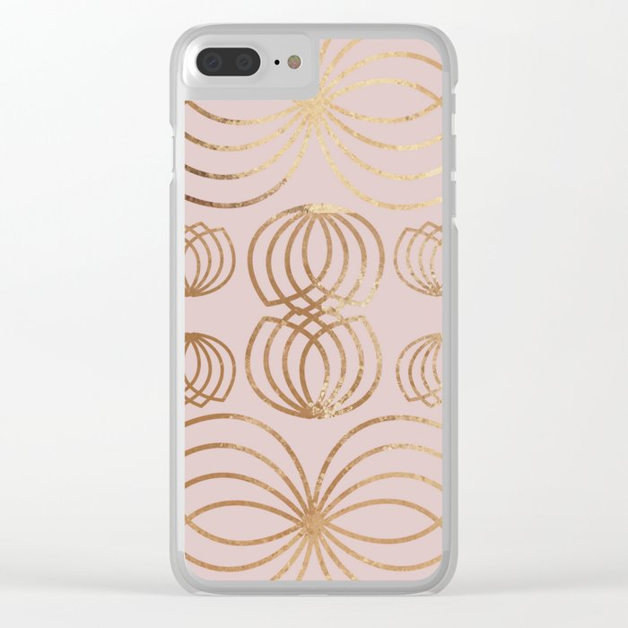quality design 61397 6268a Honey Bee rose gold Clear iPhone Case