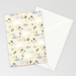 Seagulls on the Beach - Beachy Tones Stationery Cards