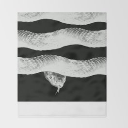 cold blooded Throw Blanket
