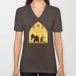 Ornstein and Smough (Dark Souls) Unisex V-Neck