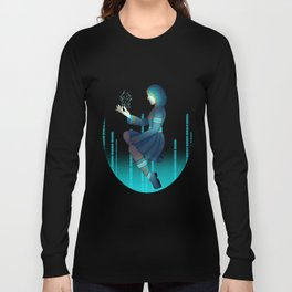 Techno witch Long Sleeve T-shirt