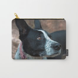 Jersey's Pink Collar Carry-All Pouch