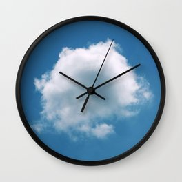 Nature's Cotton Wool Wall Clock