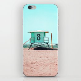 California Lifeguard Tower iPhone Skin