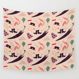 Practically Perfect Pattern Wall Tapestry