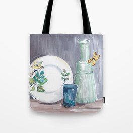 Enanita came to visit Tote Bag