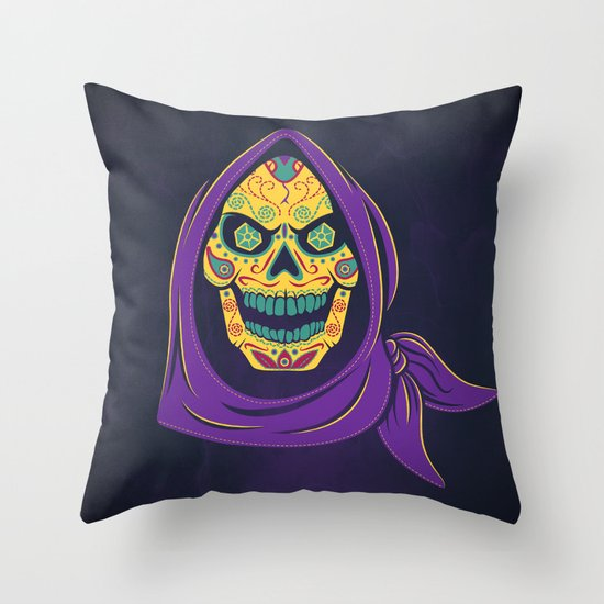 Señor de Destrucción Throw Pillow