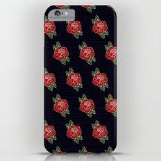 Rose Pattern iPhone 6s Plus Slim Case