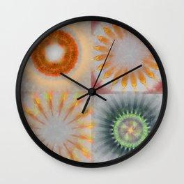 Untheologize Consonance Flowers  ID:16165-115853-31050 Wall Clock