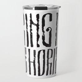 BMTH Lettering Travel Mug