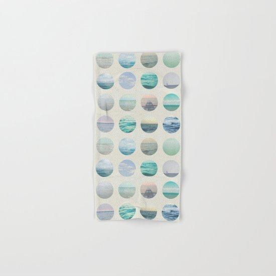 Ocean Polka dot  Hand & Bath Towel