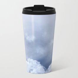 Coração de nuvem Metal Travel Mug