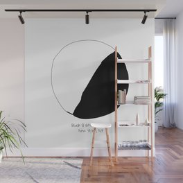 Black and White Cookie New York Wall Mural