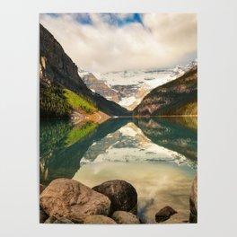 Symmetrical Lake Louise Poster