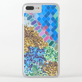 INSPIRED BY GAUDI Clear iPhone Case