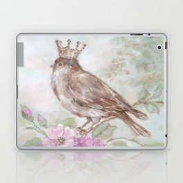 French Crown and Feathers Laptop & iPad Skin