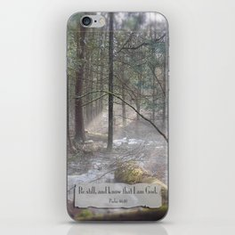 Still Woods iPhone Skin