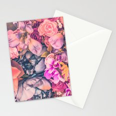 Flower color 4 Stationery Cards