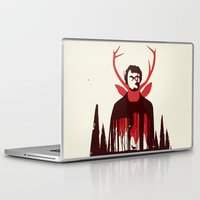 hannibal Laptop & iPad Skins featuring Hannibal by Risa Rodil