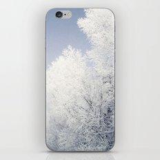 Alles ist weiß iPhone & iPod Skin