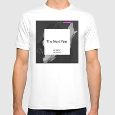 Bowie : The New Year Mens Fitted Tee MEDIUM White