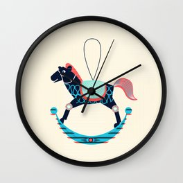 Rocking Horse Wall Clock