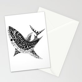 Mr Shark ecopop Stationery Cards