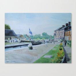 Stoke Bruerne Canvas Print