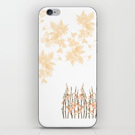 Flowers in Paradise iPhone Skin