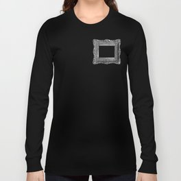 Antique Frame black and white #1 Long Sleeve T-shirt