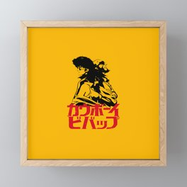 001 Cowboy Bebop Trio Framed Mini Art Print