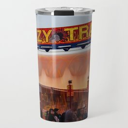All Aboard the Crazy Train carnival ride Travel Mug