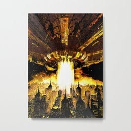 Welcome To The Apocalypse Metal Print