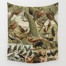 Birds of the World Wall Tapestry