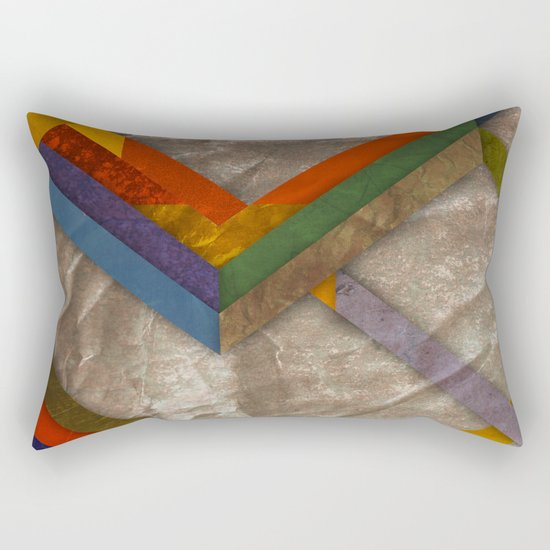 Abstract #269 Rectangular Pillow