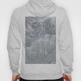 Heavenly Resort Trail Map Hoody