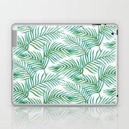 Palm Leaves_Bg White Laptop & iPad Skin