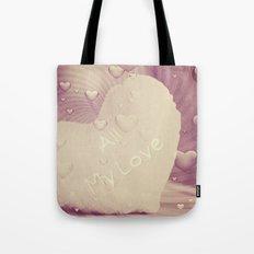 Luv Hearts Tote Bag