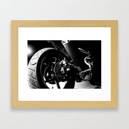 Kawasaki Ninja Motorcycle Wall Art II Framed Art Print
