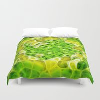 pixel Duvet Covers featuring Pixel by Phil Flaig