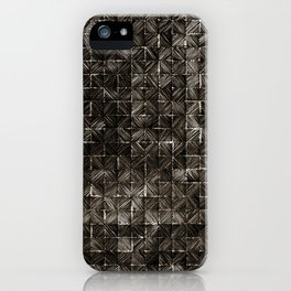Ink Stitch: Smokey Quartz (dark) iPhone Case