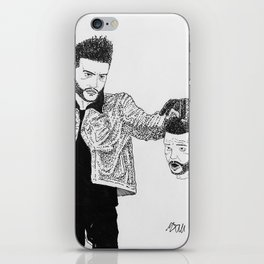"""Abel with the head of Goliath"" by Mauri iPhone Skin"