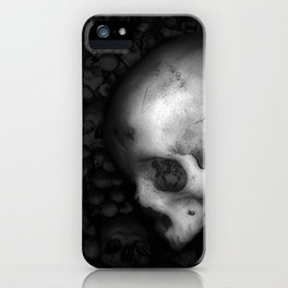 Kostnice Beinhaus Skull II iPhone Case