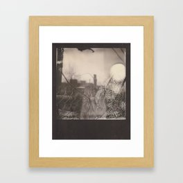 on the other side of things Framed Art Print