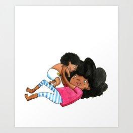 Baby Bro love Art Print