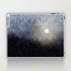 Glowing Moon in the night sky Laptop & iPad Skin