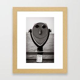 Eyes on New York Framed Art Print