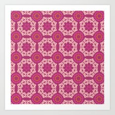 Moroccan Textured Tile Art Print