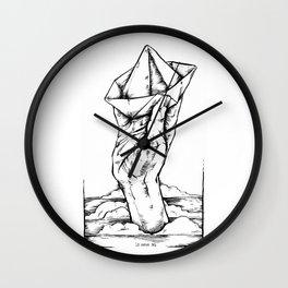 Ship In Hand Wall Clock